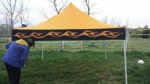 New Farmers Market Tent